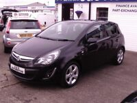 2012 VAUXHALL CORSA 1.2 SXI A/C 12 MONTHS M.O.T 6 MONTHS WARRANTY (FINANCE AVAILABLE)