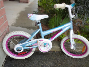 "Supercycle ""Illusion"" kid's bike with 16"" tires"