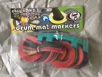 Protection Racket Drum Mat Markers - BRAND NEW