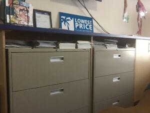 3 drawer locking filing cabinet