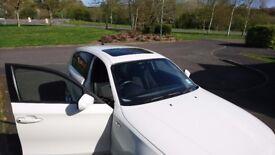 BMW 1 Series 116I SPORT, 2010 60 plate WHITE 5 DOOR, LOW MILEAGE