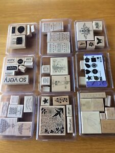 Stampin Up Stamp Sets & Punches