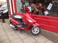 Lexmoto scout 50cc moped full 12 months mot only 760 from new