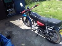 125 motorbike for SWAPS ONLY