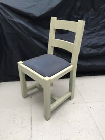 TWO SETS OF FOUR DINING ROOM CHAIRS