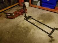 Logic quad atv slurry yard scraper with system 20 frame
