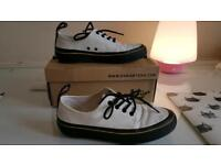 White Dr. Martens trainers