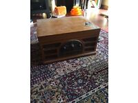 Vintage Crosley Record Player - Much loved!