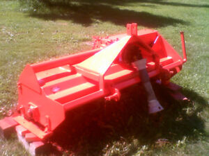 3 pt hitch  60 inch rototiller