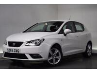 SEAT IBIZA 1.4 TOCA 5d 85 BHP (white) 2014