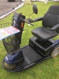 Elite XS (3 Wheel) 8mph Road /Pavement Mobility Scooter
