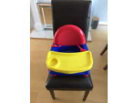 Booster Seat: Safety 1st Easy Care Primary Swing Tray Booster Seat