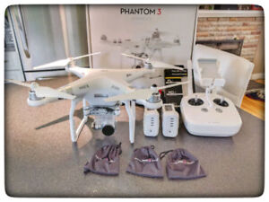 DJI Phantom 3 Advanced with extras