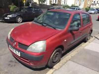 2005 RENAULT CLIO AUTOMATIC GOOD CAR IGNITION IS BROKEN SO WONT START