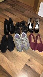 Ladies sz 8 shoe lot