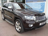 Jeep Grand Cherokee 3.0CRD V6 auto 2012 Overland Summit F/S/H P/X