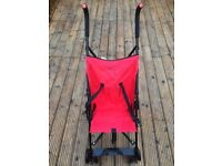 Red Stroller Buggy Used Once