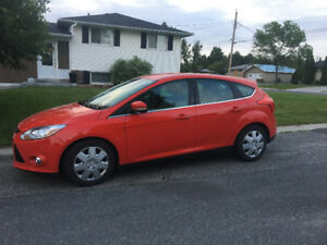 2012 Ford Focus Hatchback with heated seats