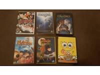 Various children's dvds, £1 each