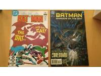 Vintage Batman comics x 2 - The bat and the cat and Batman shadow of the bat
