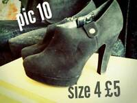 NOW £4 PER PAIR Women's shoes size 4.... 2 of 2 ads