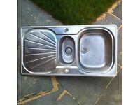 Franke Stainless Steel Sink £15