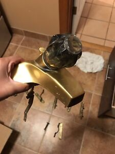 Gold Delta Faucet Works Great