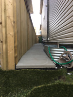 Slab brick level wanted in airdrie $50 CASH
