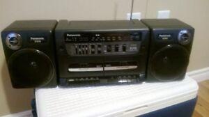 Panasonic XBS Portable Stereo