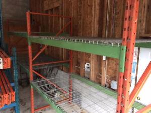 Heavy duty shelving / shop storage