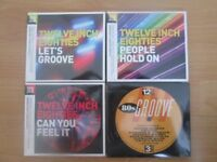 CDs Twelve Inch Eighties New and Sealed x 4