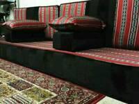 floor site sofa majlis Arabian Brandon New (bedouin stye )