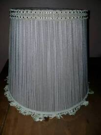 Lampshade BHS toffee shade colour pleated