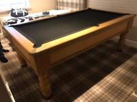 7ft by 4ft Pool table