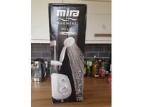 Brand new Mira electric shower