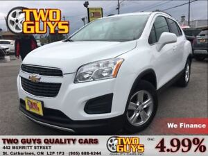 2013 Chevrolet Trax 1LT | GM LEASE RETURN | FWD | ALLOYS