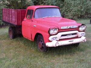 Parting Now - 1958 1959 Original Paint GMC truck