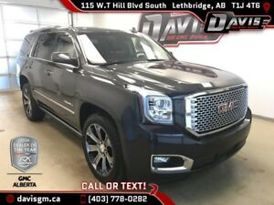 Used 2016 GMC Yukon Denali-Heated/Cooled Leather, 7 Passenger