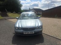 Jaguar X-Type se d Turbo Diesel 2.0cc 130bhp 4 door saloon 04/2004 3 keepers 197k service history ..