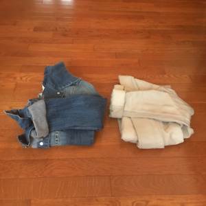 Women's Casual Jean and Leather Jackets