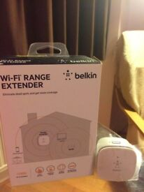 *belkin WiFi RANGE EXTENDER