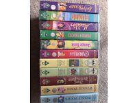 11 x Children's films on VHS Video