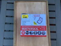 Double masterseal socket IP66 rated