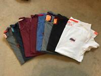 8 x Mens SuperDry t-shirts size M/L