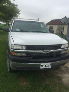 2001 Chevy 2500 Hd With heated asphalt sealing unit