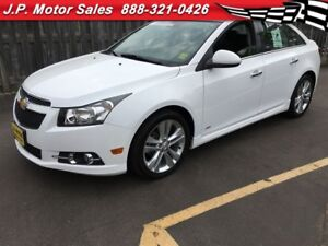 2014 Chevrolet Cruze 2LT, Automatic, Navigation, Leather, Sunroo