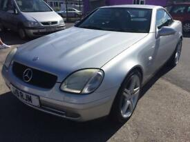 Mercedes Benz slk 230 auto, 12 months mot 48000 miles genuine , immaculate condition