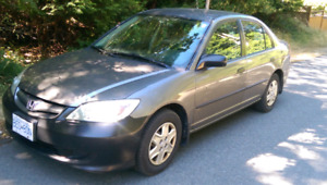 2004 Honda Civic 5 speed