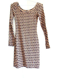 RABBIT PRINT DRESS $10