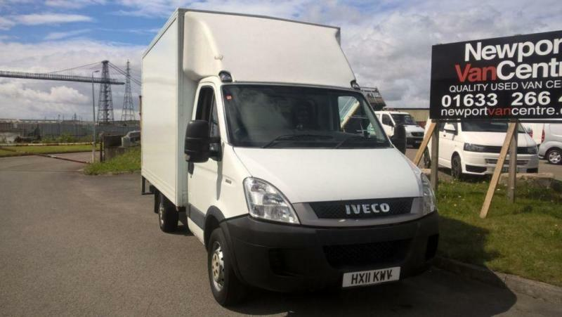 IVECO-FORD DAILY 2.3 35S13 126 BHP LUTON BOX DIESEL